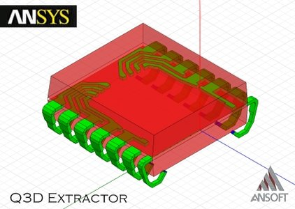 ANSYS Q3D Extractor X32&X64 12.0 集成电路板设计