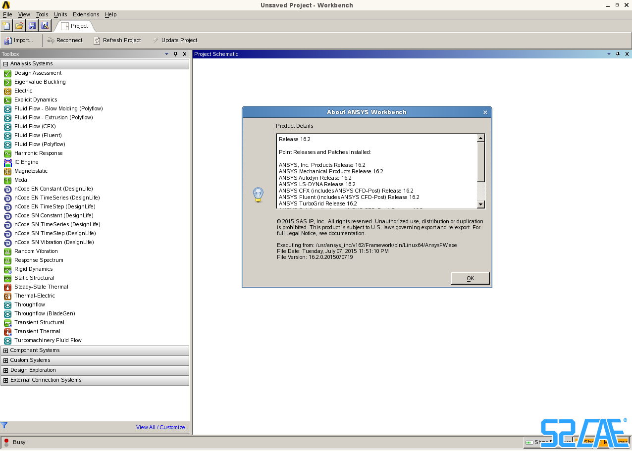 ANSYS 16.2 nCode DesignLife 11.0 Win/Linux